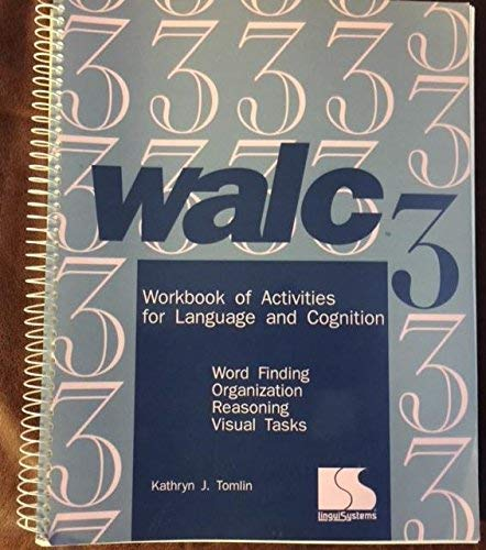 Walc 3 Workbook of Activities for Language: Linda Bowers; Rosemary