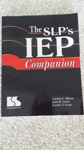9780760606063: SLP's IEP Companion