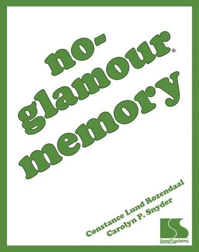 9780760607435: No-Glamour Memory