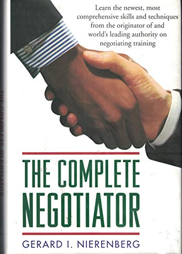 9780760701218: Title: The Complete Negotiator