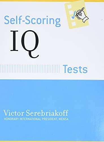 9780760701645: Self-Scoring IQ Tests (Self-Scoring Tests)
