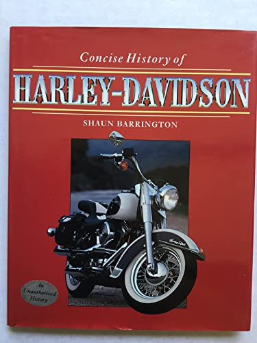 9780760702161: Concise History of Harley-Davidson