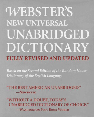 Webster's New Universal Unabridged Dictionary (fully revised and updated): House, Random