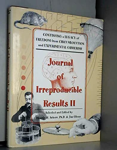 9780760704226: Journal of Irreproducible Results II