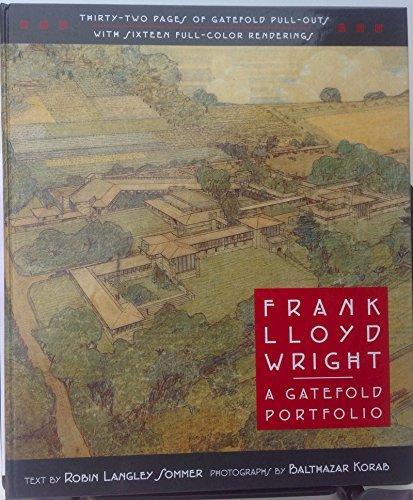9780760704639: Frank Lloyd Wright: A gatefold portfolio