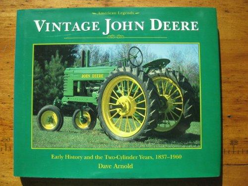9780760704646: Vintage John Deere [Hardcover] by Arnold, Dave