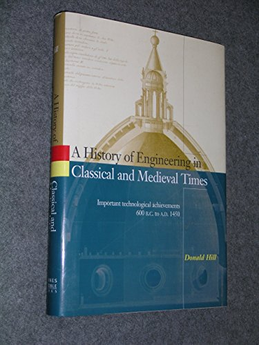 9780760704684: A History of Engineering in Classical and Medieval Times (Important Technological Achievements 600 B.C. to A.D. 1450)