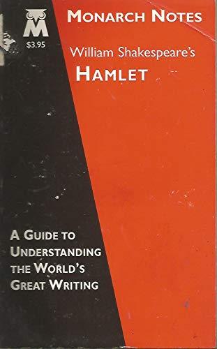 9780760705681: William Shakespeare's Hamlet (Monarch Notes)