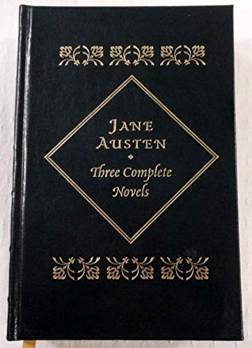 THREE COMPLETE NOVELS. LEATHERBOUND. ~ SENSE AND: Austen, Jane