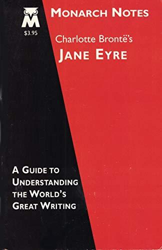 9780760708330: Charlotte Bronte's Jane Eyre (Monarch Notes)
