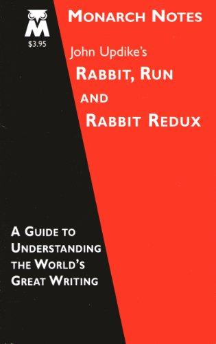 9780760711323: John Updike's Rabbit Run and Rabbit Redux (Monarch Notes)