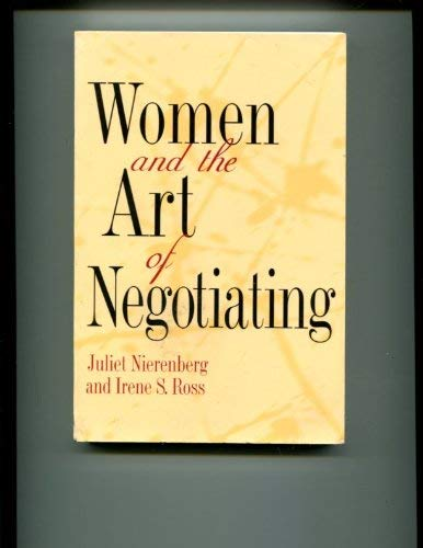 9780760712047: Women and the Art of Negotiating