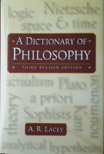 9780760712825: A dictionary of philosophy