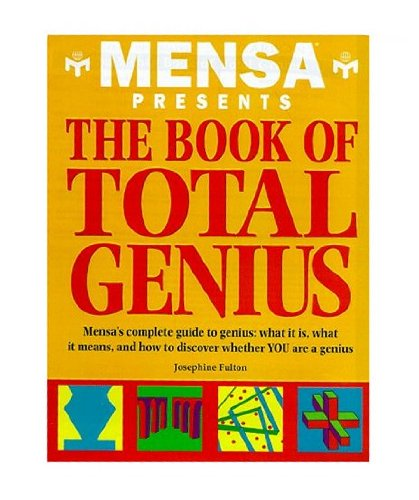 9780760715420: Mensa Book of Total Genius