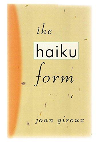 9780760716441: The haiku form