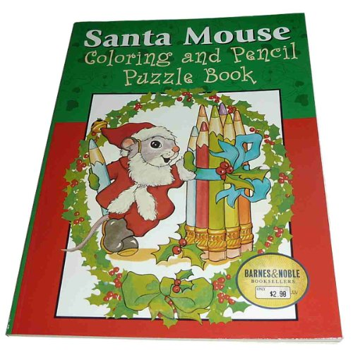 9780760716953: Santa Mouse Coloring and Pencil Puzzle Book