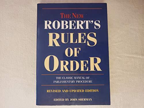 The New Robert's Rules of Order: John Sherman