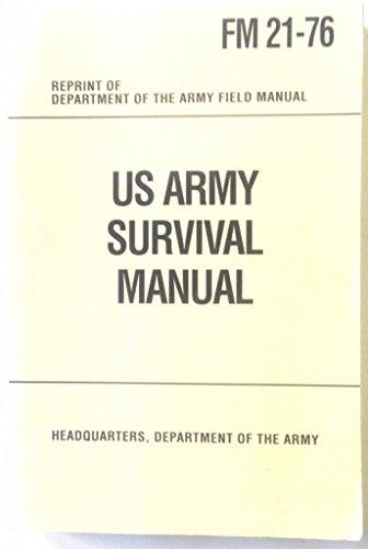 U S Army Survival Manual: FM 21-76: Anon).