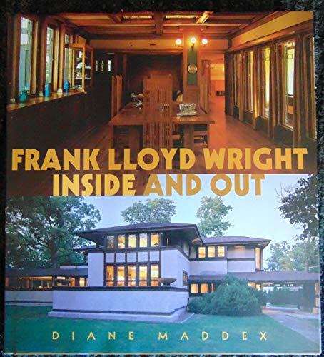 9780760726037: Frank Lloyd Wright : Inside and Out
