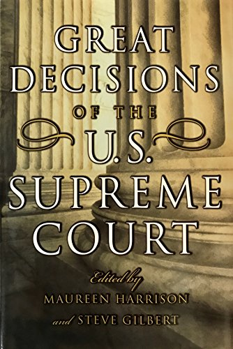 9780760735374: Great Decisions Of The U. S. Supreme Court