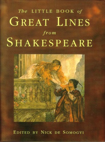 9780760737835: Little Book of Great Lines from Shakespeare