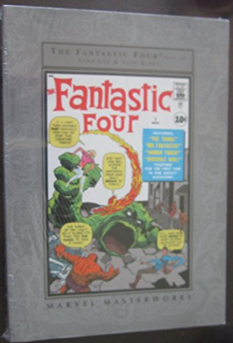 The Fantastic Four Nos. 1-10 Marvel Masterworks: Lee, Stan and Jack Kirby