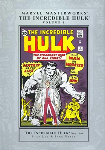 9780760737965: The Incredible Hulk, Volume 1 (Marvel Masterworks, Volume 1)
