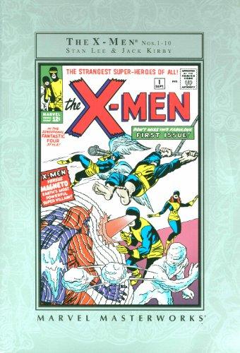 The X-men Nos. 1- 10 (Marvel Masterworks,: Stan Lee, Jack