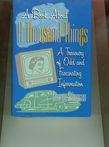 9780760738030: A Book About A Thousand Things