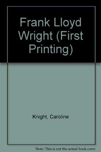 9780760739556: Title: Frank Lloyd Wright