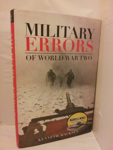 9780760742822: Military Errors of World War Two