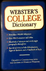 9780760742938: Webster's College Dictionary