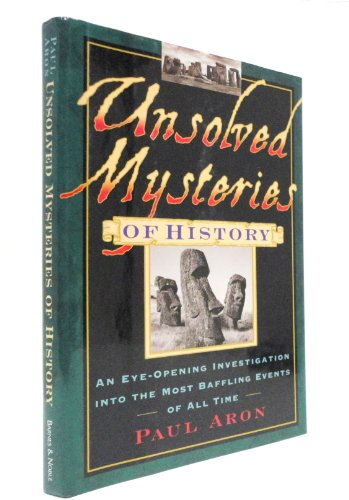 9780760745083: Unsolved Mysteries of History