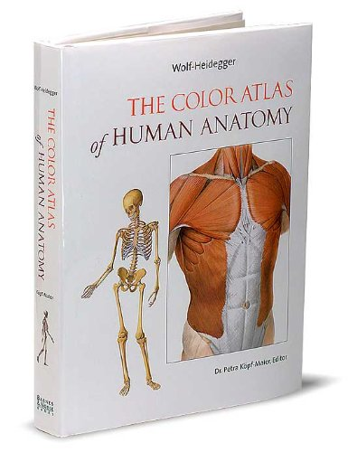 9780760745465: The Color Atlas of Human Anatomy