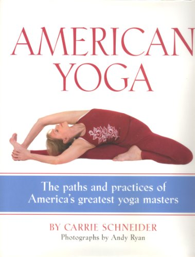 Stock image for AMERICAN YOGA for sale by PERIPLUS LINE LLC