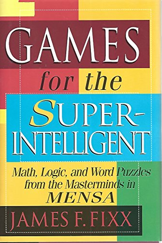 9780760747438: Games for the Super-Intelligent
