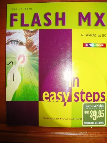 9780760747773: FLASH MX in Easy Steps for Windows and Mac