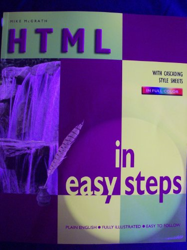 9780760747797: HTML in Easy Steps