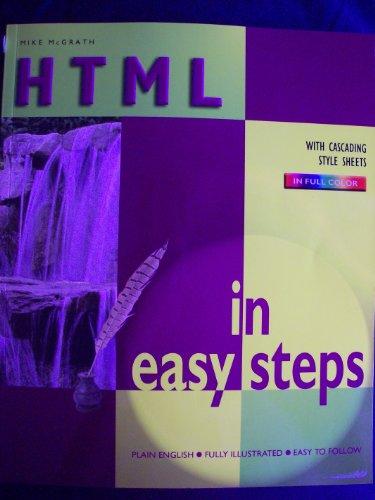 9780760747797: Html in Easy Steps