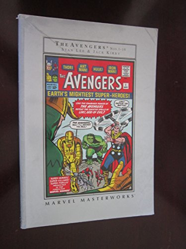9780760748084: Marvel Masterworks: The Avengers (Volume 1)