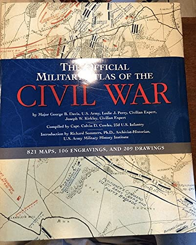 9780760750445: The Official Military Atlas of the Civil War