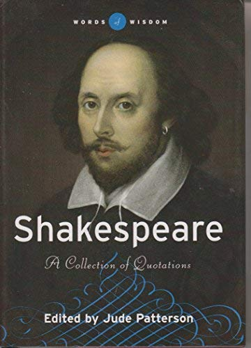 9780760753606: Shakespeare, A Collection of Quotations (Words of Wisdom)