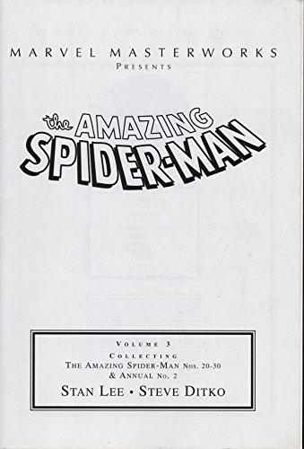 Spider-man: The Amazing Spider-Man: Marvel Masterworks Volume 3