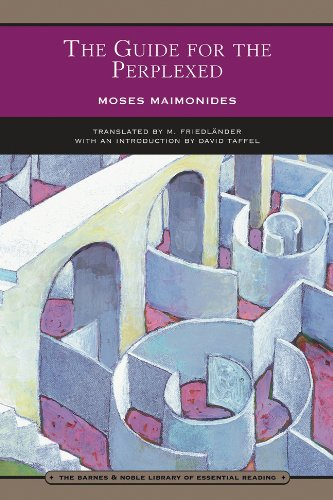 The Guide for the Perplexed (Barnes &: Moses Maimonides, M.
