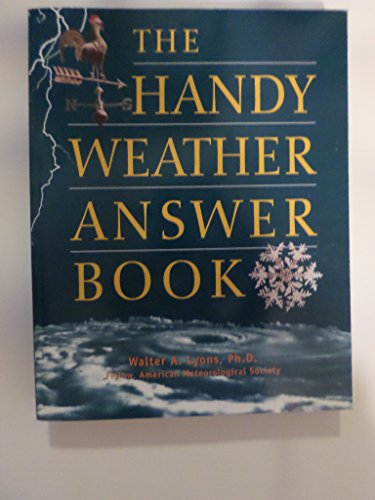 9780760757673: The Handy Weather Answer Book