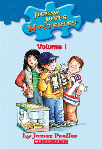 Jigsaw Jones Mysteries Volume 1 (Hermie the Missing Hamster #1/Spooky Sleepover #4/Stolen Baseball ...