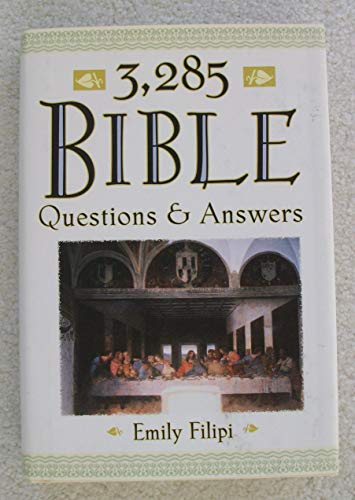 9780760758618: 3,285 Bible Questions & Answers