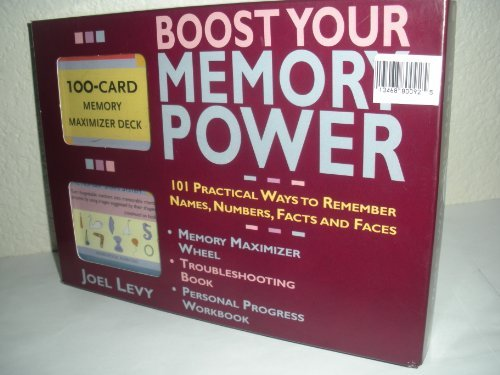 9780760759424: Boost Your Memory Power Complete Boxed Set by Joel Levy (2004-01-01)