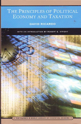 Principles of Political Economy and Taxation: Ricardo, David