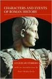 9780760765920: Characters and Events of Roman History